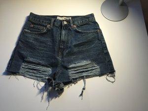 Topshop Jeansshorts Hotpants destroyed Gr.34