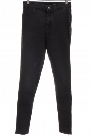 Topshop Jeggings anthracite simple style