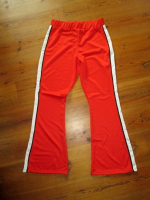 Topshop Jogg Pant Trackpants ausgstellte Jogginghose rot Gr. 42 neu