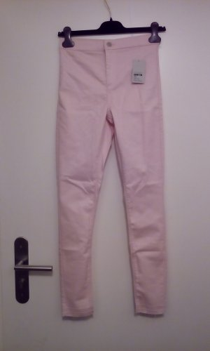 Topshop Jeans skinny rosa pallido