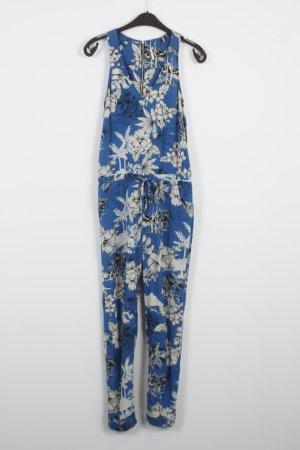 Topshop Jumpsuit Gr. S blau weiß (18/7/181)