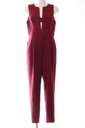 Topshop Jumpsuit red elegant
