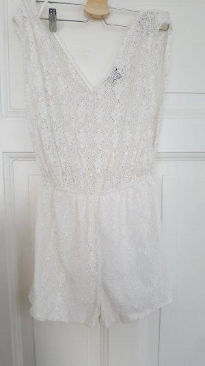 Topshop Jumpsuit white