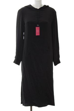 Topshop Hooded Dress black casual look