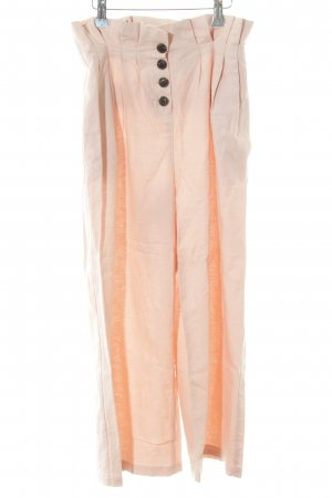 Topshop Peg Top Trousers pink simple style