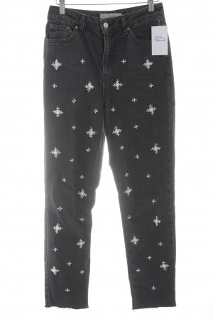 Topshop Karottenjeans anthrazit Casual-Look