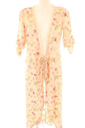 Topshop Kimono-Bluse Blumenmuster Boho-Look
