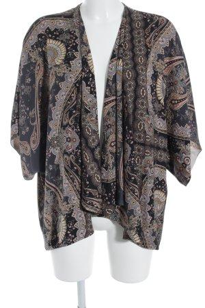 Topshop Blusa tipo kimono estampado con aplicaciones look casual