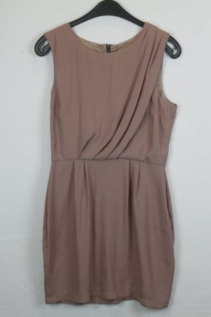 Topshop Kleid Etuikleid Gr. 38 dunkelrosé (18/4/361)