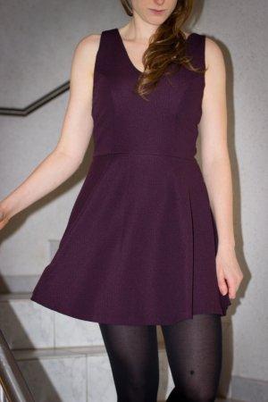Topshop Kleid in Aubergine, Silvester & Weihnachten