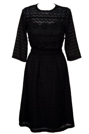 Topshop Kleid in Schwarz