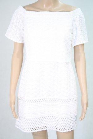 Topshop Kleid in Weiß