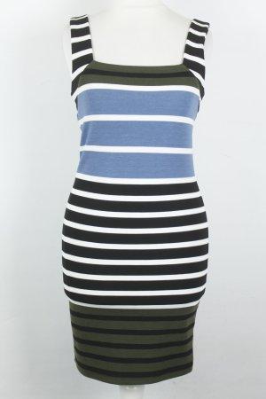 Topshop Kleid Midikleid Stretchkleid Gr. 34 Streifen