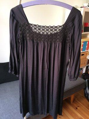TOPSHOP Kleid mit Spitze Rückenausschnitt schwarz Gr. 14 (38/40)