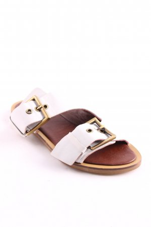 Topshop Comfort Sandals white-brown casual look