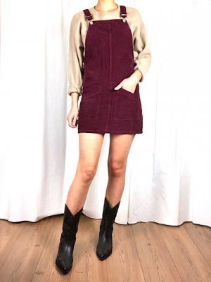 Topshop Mini-jurk bordeaux