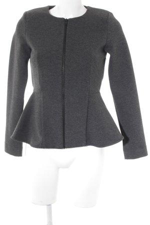 Topshop Short Blazer dark grey business style