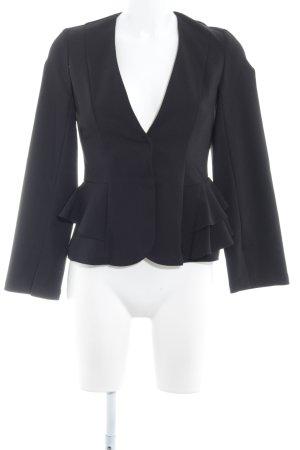 Topshop Kurz-Blazer schwarz Elegant