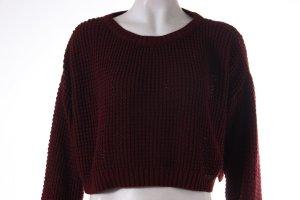 Topshop Kurz-Pullover aus Grobstrick