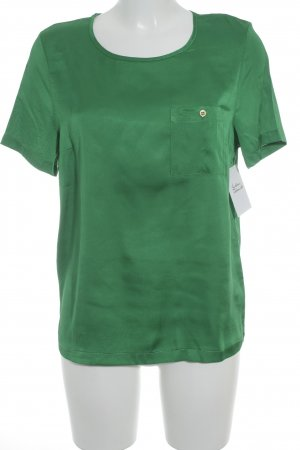 Topshop Kurzarm-Bluse grün Elegant