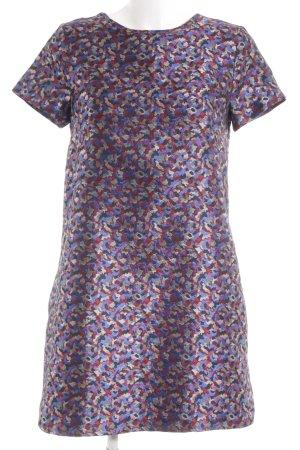 Topshop Robe à manches courtes motif abstrait style urbain