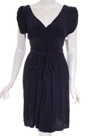 Topshop Shortsleeve Dress dark blue elegant