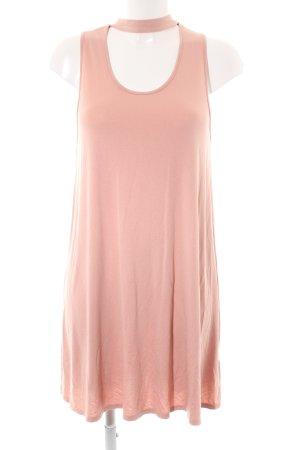 Topshop Kurzarmkleid rosa Casual-Look