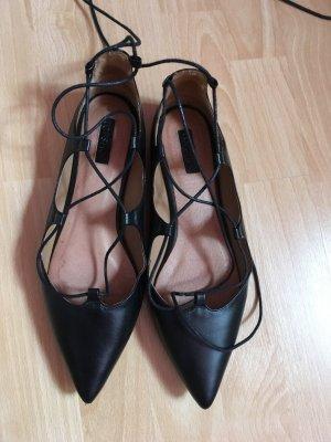 Topshop Lace up flats, Schuhe von Topshop