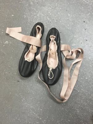 TopShop LACE UP miu Ballerina flats Shoes Gr 39