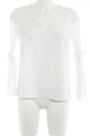 Topshop Langarm-Bluse weiß Elegant