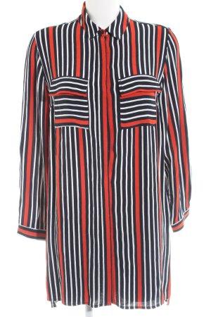 Topshop Camicia a maniche lunghe motivo a righe stile casual