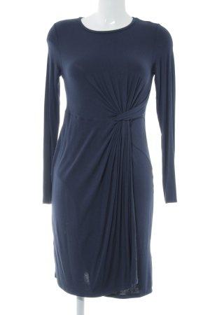 Topshop Langarmkleid dunkelblau Elegant