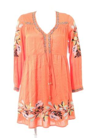 Topshop Longsleeve Dress floral pattern Boho look