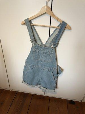 Topshop Jeans met bovenstuk blauw-azuur