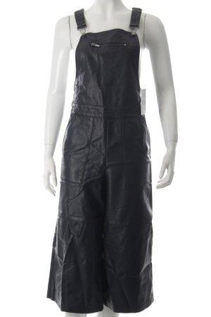 Topshop Latzhose dunkelblau Street-Fashion-Look