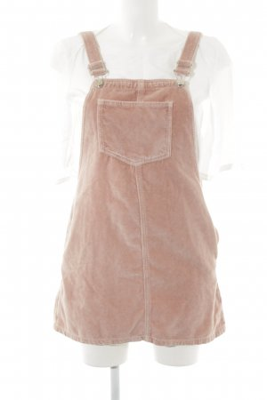 Topshop Pinafore Overall Skirt dusky pink simple style