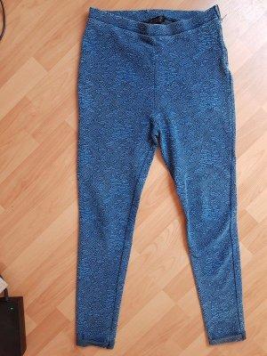 Topshop Leggings Blau Größe 44