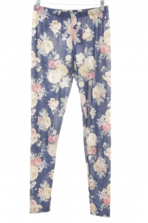 Topshop Leggings Blumenmuster Casual-Look