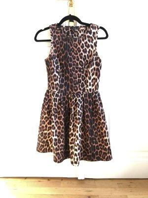 Topshop Leopard A-linien Swing Kleid
