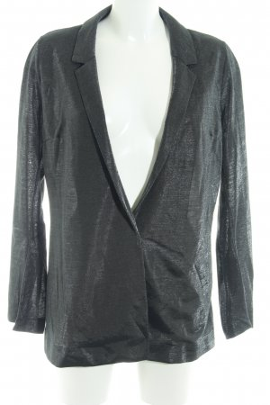 Topshop Long-Blazer anthrazit Glitzer-Optik