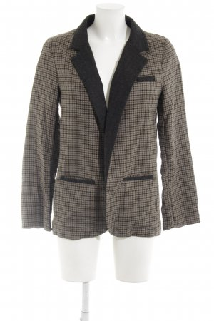 Topshop Long-Blazer Hahnentrittmuster Business-Look