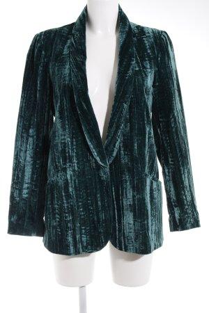 Topshop Long-Blazer waldgrün Elegant