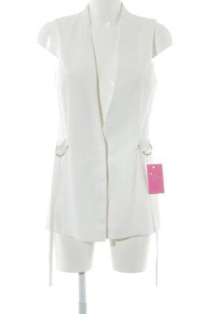 Topshop Long-Blazer weiß Elegant