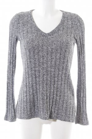 Topshop Jersey largo gris claro moteado estilo «business»