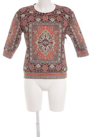 Topshop Longshirt abstraktes Muster Casual-Look