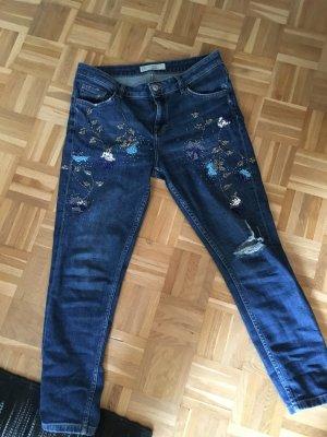 Topshop Lucas Jeans bestickt