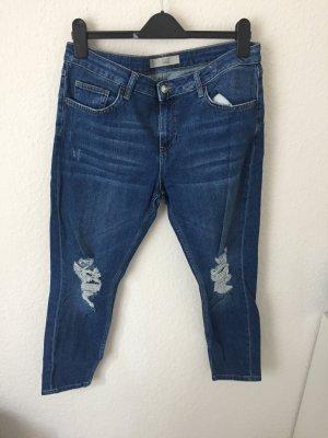 Topshop Jeans bleu foncé-bleu