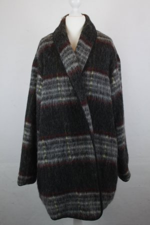 Topshop Mantel Coat Wollmantel Gr. 40 grau oversized