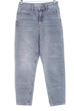 Topshop Jeans marlene grigio chiaro stile casual