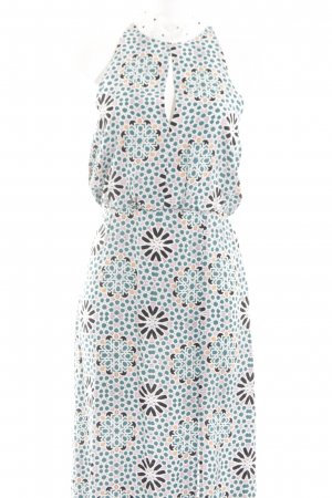 Topshop Maxikleid abstraktes Muster Casual-Look